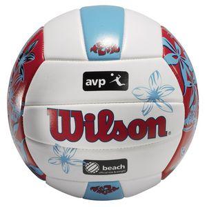 Wilson WTH05220X Beachvolleyball Endless Summer, weiß/orange/gelb/silber, Size 5 (V)