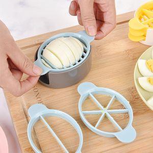 3in1 Kochwerkzeuge Schneiden Sie Multifunktions-Eierschneider Cutter Mold Flower Edges Tools HFZ90413452