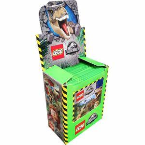 LEGO Jurassic-World - Sammelsticker - 1 Display (50 Tüten)