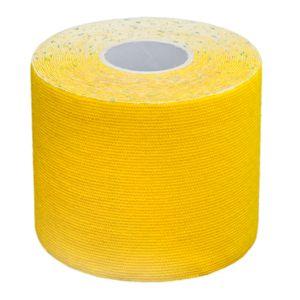 Lumaland Kinesiologielogie Tape elastisches Klebeband 5mx5cm Gelb