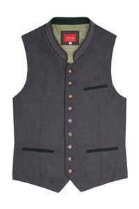 MOSER Trachtenweste grau grün Laurenz 008634 Größe: 52