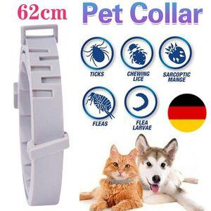 62cm Floh-Und Zeckenhalsband Für Kleine Katzen Hund Anti Insekt 8 Monate Schutz Effektiv Halsband für Ungezieferschutz Anti Flöhe und Gegen Zecken Pet