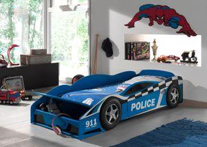 Vipack Kinderbett Police Car, Blau