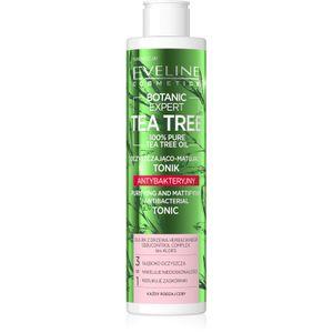 Eveline - Gesichtswasser - Botanic Expert Tea Tree - Purifying and Mattifiyng Antibacertial Tonic