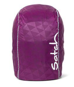 satch Regencape für Schulranzen Regenhülle Purple