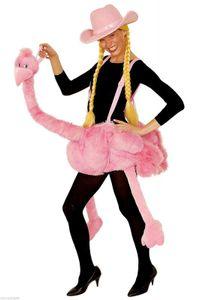 Ke02946-A Damen Herren Flamingo Flamingokostüm Vogel