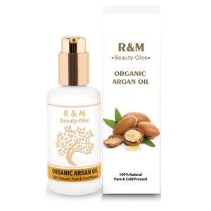 R&M Beauty-Oleo Arganöl Bio & Vegan aus Marokko - Öl Für Gesicht & Haare 100ml