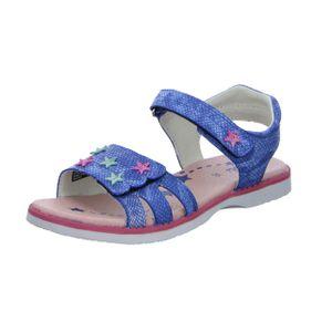 Lurchi Lulu Sandale Blau Größe 31, Farbe: blue
