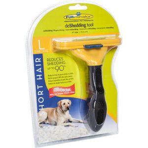 FURminator FURminator für kurzhaarige große Hunde, deShedding-Pflege Werkzeug