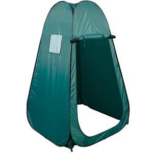 COSTWAY Duschzelt Umkleidezelt Toilettenzelt Beistellzelt Lagerzelt Campingzelt Trekkingzelt Strand Pop-up Zelt 120x120x190cm