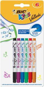 BIC KIDS Whiteboard Marker Velleda Mini 6er Blister