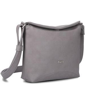 ZWEI Umhänge Tasche Klappentasche ELLI EL5, Farbe:rose