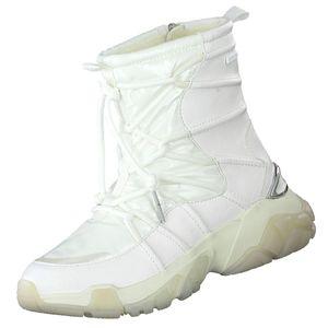 TAMARIS Damen DUO TEX Stiefel gefüttert Weiß, Schuhgröße:EUR 38