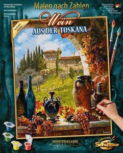 Schipper 609130840 Wein aus der Toskana Malen nach Zahlen