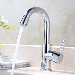Wasserhahn Küche/Bad 360° Drehbar Küchenarmaturen Mischbatterie Küche Waschtischarmatur Waschbecken Armatur chrom