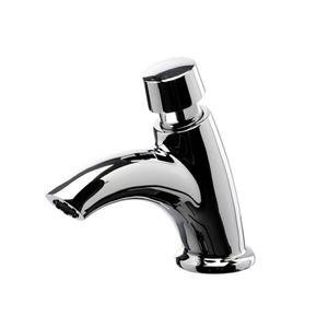 Sanixa MC2014 Waschtisch-Armatur zeitgesteuert selbstschließend Kaltwasser - Mischerarmatur Wasserhahn Auto-Stop Spezialarmatur Schlag-Armatur…