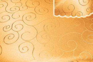 Tischdecke gelb eckig 160x300 cm damast Ornamente bügelfrei fleckenabweisend