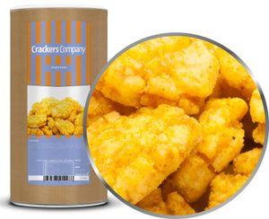 Curryrice Cracker - Reiscracker mit Curry Gewürz - Membrandose groß 250g