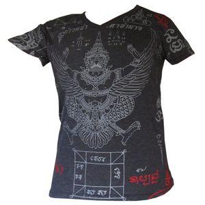 PANASIAM T-Shirt Garuda Tiger, Farbe/Design:Garuda in schwarz, Größe:M