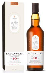 Lagavulin 10 Jahre Islay Single Malt Scotch Whisky 0,7l, alc. 43 Vol.-%