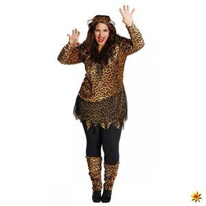 Kostüm Leopard, Katzenkostüm, Größe:44