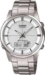 Casio Funkuhr Titan Analog-Digital Datum Solar Armbanduhr LCW-M170TD-7AER