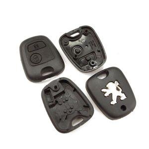 Peugeot 106 206 207 306 307 406 806 2 Tasten Gehäuse Schlüssel Fernbedienung