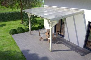 REXOcomplete Holz Terrassenüberdachung 5m x 3m