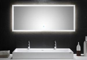 LED Spiegel 140x60 cm mit Touch Bedienung