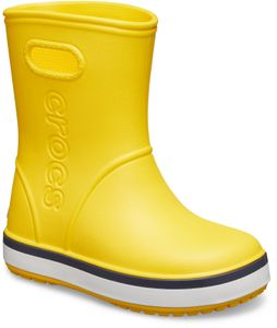 Crocs Crocband Regenstiefel Kinder yellow/navy Schuhgröße EU 25-26