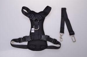 Hunde-Geschirr Hundeleine Leine Halsband Brustgeschirr gepolstert fürs Auto, Größe:S