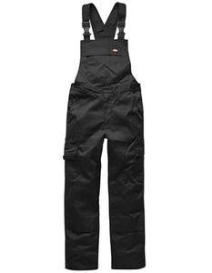 Herren Everyday Latzhose - Farbe: Black - Größe: 60