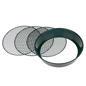 Gartensieb Erdsieb Metall mit 3 Maschenweiten Siebweiten 6,5 mm/9,5 mm/13 mm