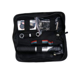 Fahrrad Reparatur Werkzeug Set mit Reifen Flickzeug, einschließlich Handpumpe, Reifenheber, Schraubendreher usw. Tools