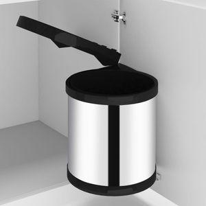 Küchen-Einbau-Mülleimer Edelstahl 8 L