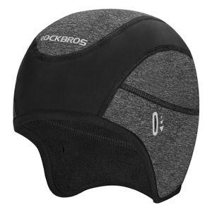 ROCKBROS Mütze Fahrrad Helmmütze Winter Fahrradkappe Unterziehmütze Mit Brillenlöcher Outdoorsport