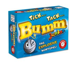 Tick Tack Bumm Junior Kinderspiel Ratespiel Spiel Gesellschaftsspiel