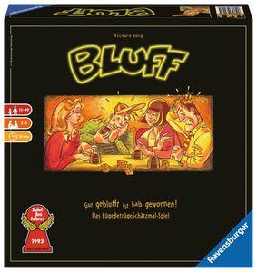 RAVENSBURGER Erwachsenenspiel Bluff Partyspiel Würfelspiel Gesellschaftsspiel