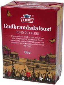 Gjetost Gudbrandsdalen Geitost Brunost Gudbrandsdalsost Norgold 1kg