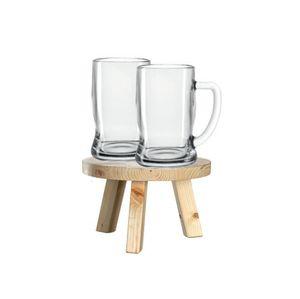 LEONARDO Colorata, Bierglas, 330 ml, Transparent, Glas, 8 cm