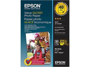 Fotopapier 10x15 Epson Value Glossy