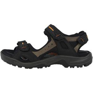 ecco Damen Trekkingsandalen Wandersandalen Sandalen Schuhe Schwarz, Größe:42