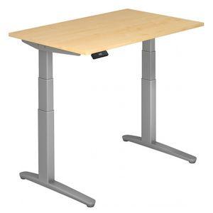 Sitz-Steh-Schreibtisch elektrisch 120x80cm Ahorn