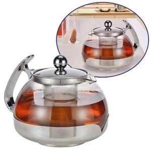 Haushalt International Teekanne mit Filter 1,2l