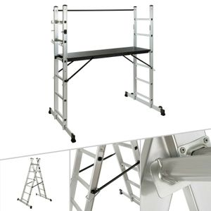 AREBOS Arbeitsgerüst Baugerüst  Gerüst Alu Leiter - direkt vom Hersteller