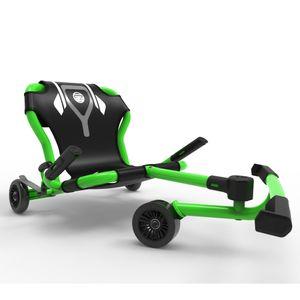 EzyRoller Classic X Trike Dreirad Kinderfahrzeug Dreiradscooter Fun Fahrzeug outdoor Spielgeräte Kinder 4 - 14 Jahre, Farbe:grün