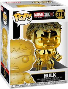 Marvel Studios - Hulk (Gold Chrome) 379 - Funko Pop! - Vinyl Figur