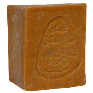 Original Aleppo Seife 80/20, 170g - 80% Olivenöl 20% Lorbeeröl, Seife hergestellt in Aleppo - für fettige Haut