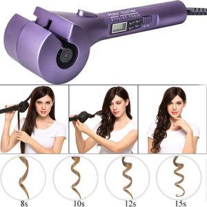 Automatische Lockenwickler Heizung Haarpflege Styling Werkzeuge CONAIR Curl Geheimnis Keramik Lockenstab Bar Salon Rotierenden Styling Curl (Rosa)