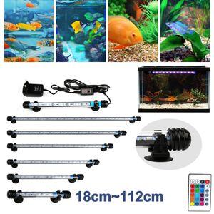 Clanmacy LED Aquarium Beleuchtung RGB Mollusken Leuchten Strahler Unterwasser